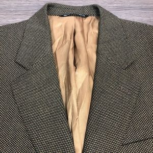 Jack Victor Brown & Tan Check Sport Coat 40S